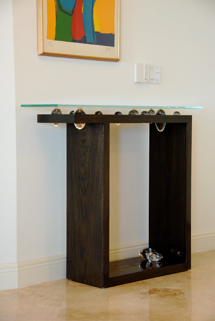 Custom Hallway Table